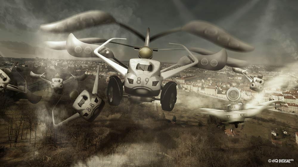 Flying bullet train cars SKU: ar-0016